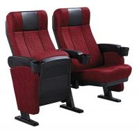 China Moveable Armrest Audience Seating Chairs Flame Retardant Fabric ISO wholesale
