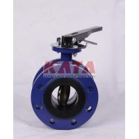 "China KATA API 6D WAFER BUTTERFLY VALVE NPS 12"" wholesale"