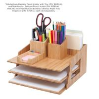 China high quality bamboo pencil holder using pen holder office or home wholesale