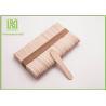 China Large Ice Cream Popsicle Sticks , 75mm Jumbo Paddle Pop Sticks Non - Waxed wholesale