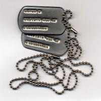 China New Arrival Classic Iron Soft Enamel Dog Tag wholesale