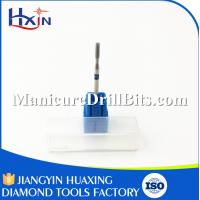 Buy cheap Blue Diamond Nail Drill Bits Shank Diameter 2.35mm / Overall Length 45mm from wholesalers