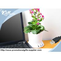 China Novelty desktop Cool USB Gadget flowerpot planting memory recorded by PC wholesale