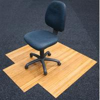 China Durable Non Studded Wood Floor Chair Mat 45 x 53 Desk Protector Mat wholesale