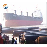 China Marine Rubber Airbag Diameter 1.8m X 10m Ship Lifting Floating Airbags wholesale