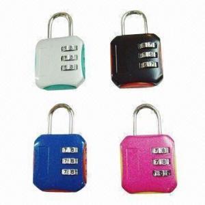 China 4-digit Combination Padlocks, Measures 81x43x21mm wholesale