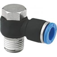 China 90 Degree Banjo Elbow NPT Threaded Fittings , Pneumatic One Touch Fittings wholesale