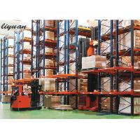 China Factory Very Narrow Aisle Racking Load Capacity 200-1000 Kgs Forklift Width wholesale