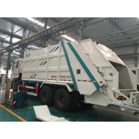 Buy cheap 6x4 10 wheel 12cbm Garbage Compactor Truck 371 hp Horsepower SGS Certification from wholesalers