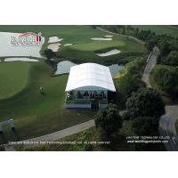 China Liri high-end Arcum Tent with glass wall used for outdoor golf events wholesale