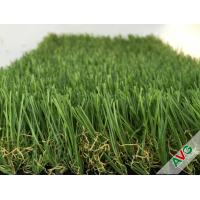 Quality 3 / 8'' Gauge PE + PP Material Flat Garden Artificial Grass For Exhibition for sale