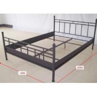 China china double metal bed frame cheap metal bed  B041 wholesale