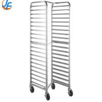 China Commercial Bakery Rack Trolley , Utensil Heavy Duty Cooling Rack Trolley wholesale