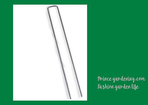 Long Garden Landscape Staples , Anchor Pins For Landscape Fabric