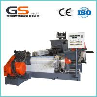 China Single / Double Screw Plastic Pellet Making Machine For PVC Cable / Wire Materials wholesale