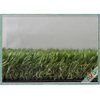 China Safety Surfacing Green Outdoor Artificial Grass For Children Playing SGS Approved wholesale