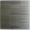 China Brick Look Strip Metal Kitchen Wall Tiles, Stainless Steel Mosaic Tiles wholesale
