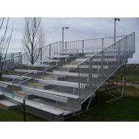 China Aluminium Mobile Portable Indoor Bleachers , Heavy Duty Outdoor Bleacher Seating wholesale