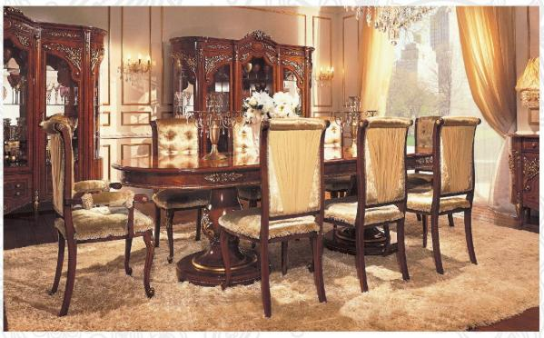 Luxury Color Custom Dining Room Furniture Antique Dining Room Table Images
