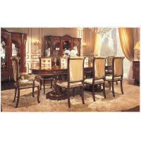 China Luxury Villa/European Antique Dining Room Furniture,Wood Table,Cabinet,Chair,VS-003 wholesale