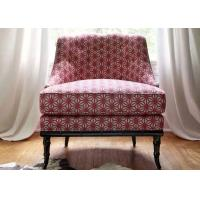 China Hotel Bedroom Furniture Wooden Accent Chair For Waiting Lobby Areas wholesale