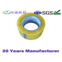China 99 Yards Long BOPP adhesive tape , Excellent Initial Tack Sealing tape on sale