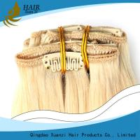 Buy cheap Silky Straight Wave Natural Blonde Ladys Hair Extensions Brazilian Human Hair from wholesalers