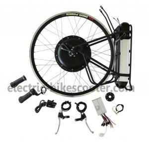 China Rear Wheel Electric Bike Kit 36V 500W Brushless Hub Motor 25km - 38km / h on sale