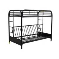 China Collapsible Metal Double Decker Bed , Stainless Steel Dorm Room Furniture on sale