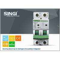 China PV system 1P 6a 24v DIN Rail DC MCB Solar system circuit breaker waterproof electrical circuit breaker box wholesale