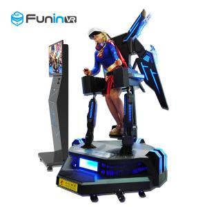 China Funin VR 3D Glasses Helmets Simulator Profitbale Amusement Equipment Flight Shooting 9d VR Game Machine wholesale