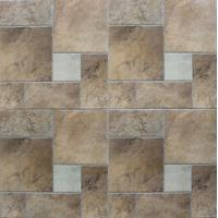 China Ancient Ceramic Tile Flooring / Outdoor Patterned Floor Tiles Clear And Vivid Designs on sale