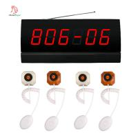 China Hot sale nursing room wireless paging system panic call button and receiver for hospital wholesale