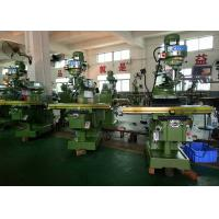 China ISO30 / R8 Spindle Turret Milling Machine With 0.005mm Tolerance Automated wholesale