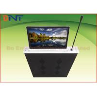 China Aluminum Alloy Integrated Ultra Thin LCD Monitor Lift With Touch Panel Control wholesale