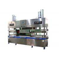 China Biodegradable Semi automatic Tableware Making Machine for Molded Pulp Injection wholesale