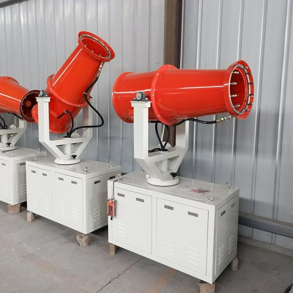 Quality 60M remote controlfogmachine/mist cannon/fogsprayer dust fighter for sale