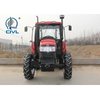 China CIVL 2200/22hp/2WD New farm tractor 4x2 wheel drive tractor  1450 wheelbase red color wholesale