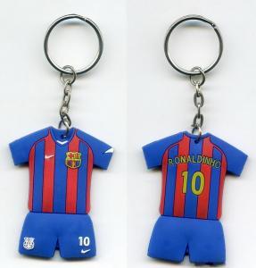China Innovative Gift Clothing Shape PVC Key Chain wholesale