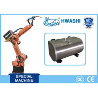 China HWASHI 6 Axis Mig Tig Welding Robot  Arm for  Aluminum Fuel Tank wholesale