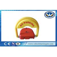 China CE Approved car parking space protector , Remote Control Parking Barrier Lock on sale