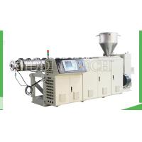 Buy cheap High Output Plastic Extrusion Machine , PE / HDPE Dough Extruder Machine from wholesalers