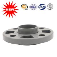 China ANSI Plastic Pipe Fittings , PVC Water Pipe Fittings Gary Flexible Flange wholesale