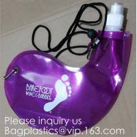 China Collapsible Water Bottle Reusable Drinking Water Bottle with Clip for Biking, Hiking Travel, Gym, Sports, teams, Hiking wholesale