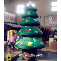 China Outdoor Yard Inflatables Christmas Decoration, Christmas Tree for Sale wholesale