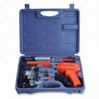 China Eight-piece Soldering Gun Kit, Includes Helper to Hold PCB or Other Work Piece to Free Your Hands wholesale