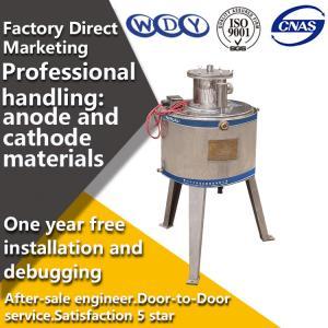 Buy cheap Separador magnético molhado 1.5KW/separadores magnéticos de grande resistência do laboratório manual from wholesalers