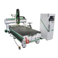 China Automatic CNC Router Woodworking Carving Machine 1325 Linear Tool Storage on sale