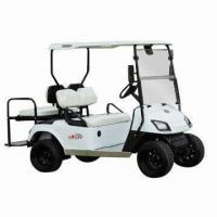 China 2740 x 1,220 x 1,860mm 4-seat Electric Golf Cart with 48V/3kW Motor and 25° Climbing Ability wholesale
