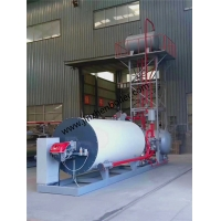 Buy cheap Gas Oil Fired Horizontal Organic Heat Carrier Thermal Oil Boiler For Heat from wholesalers